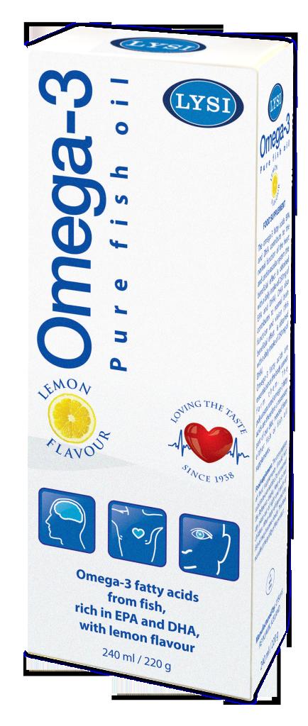 Omega-3 cu aroma naturala de lamaie