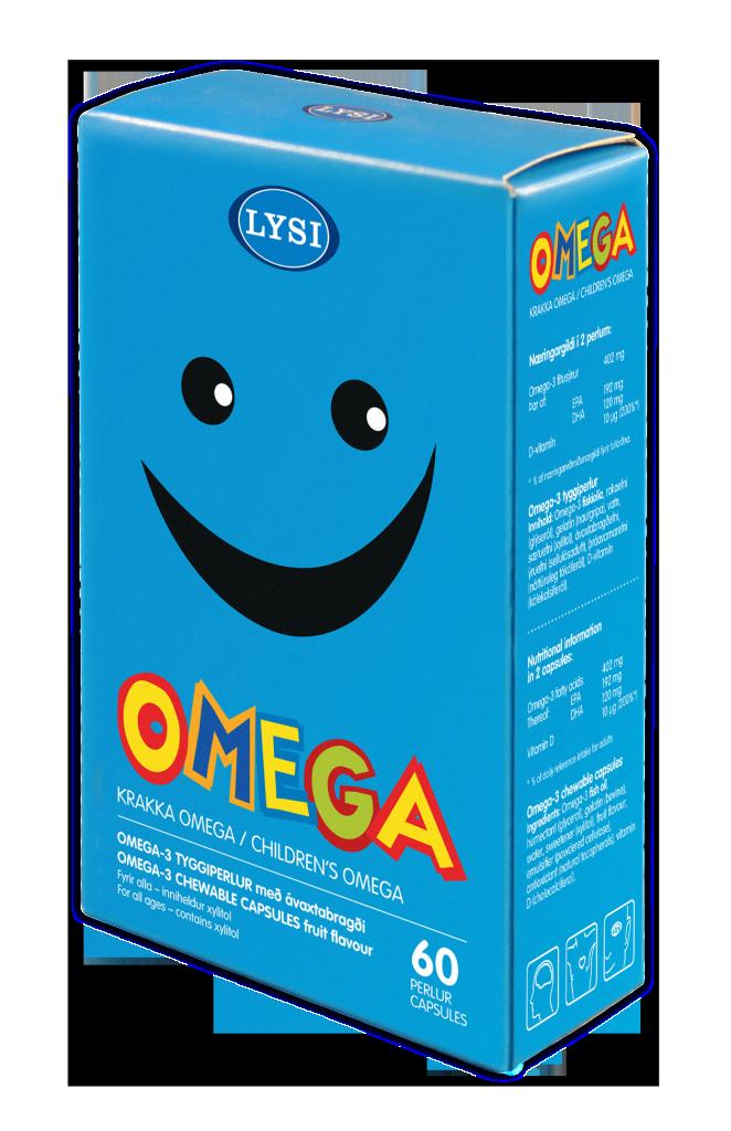 Omega-3 pentru copii cu gust de fructe