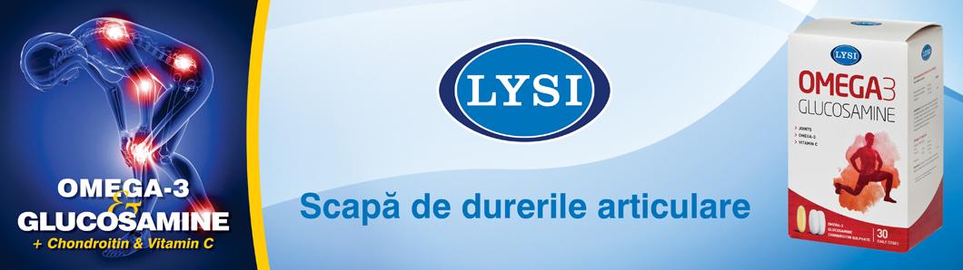 LYSI Omega-3 Glucozamina