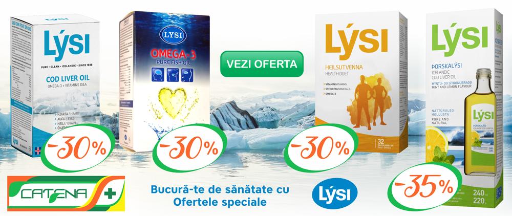 omega 3 lysi pret catena)